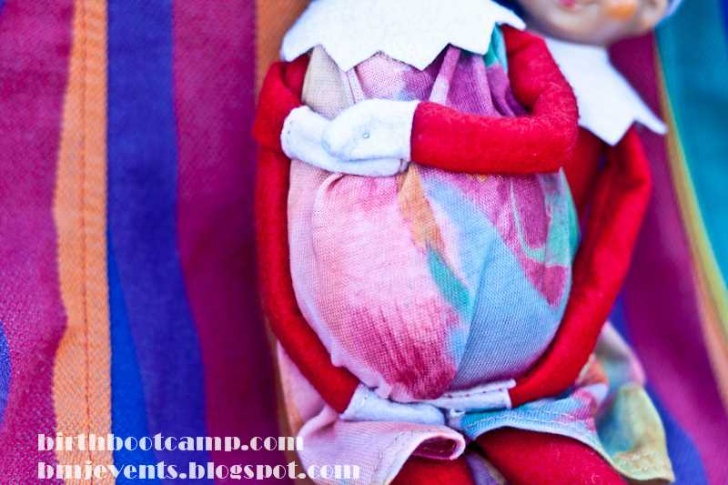 elf on the shelf maternity photography