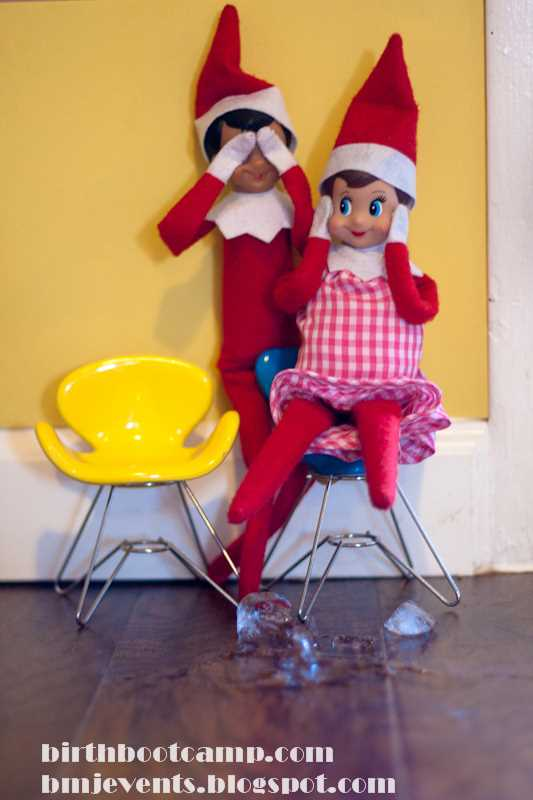Elf on the Shelf Pregnancy Pictures - Birth Boot Camp ...