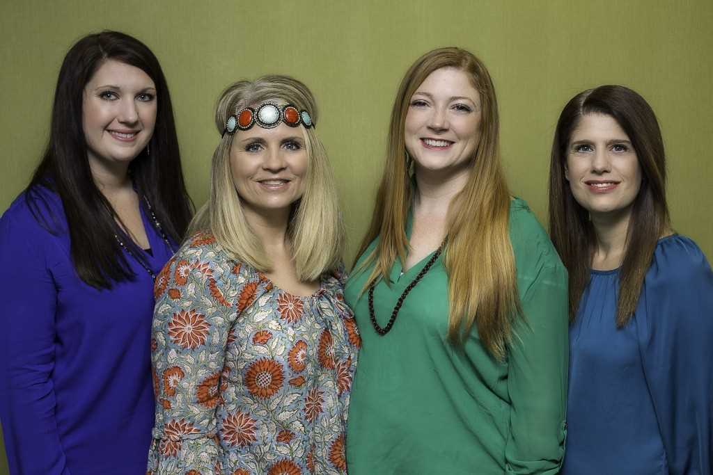 Nancy, Donna, Amanda, and Maria are the women behind Birth Boot Camp DOULA