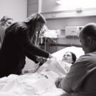 doula at a birth