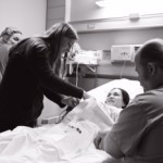 doula at a birth