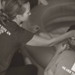 doula at water birth