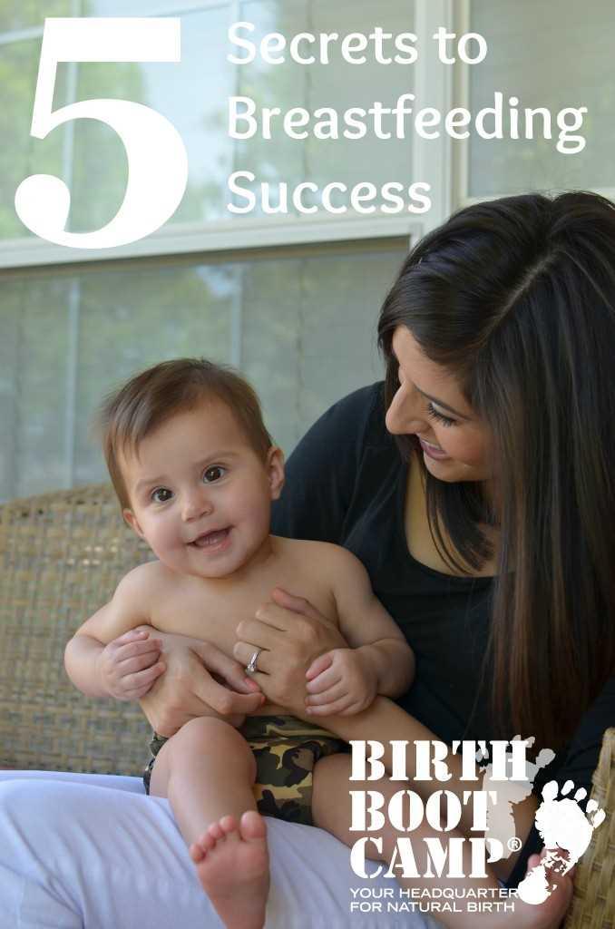 5 Secrets To Breastfeeding Success