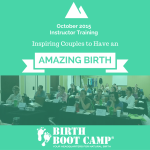 Childbirth Educator Training, October 2015