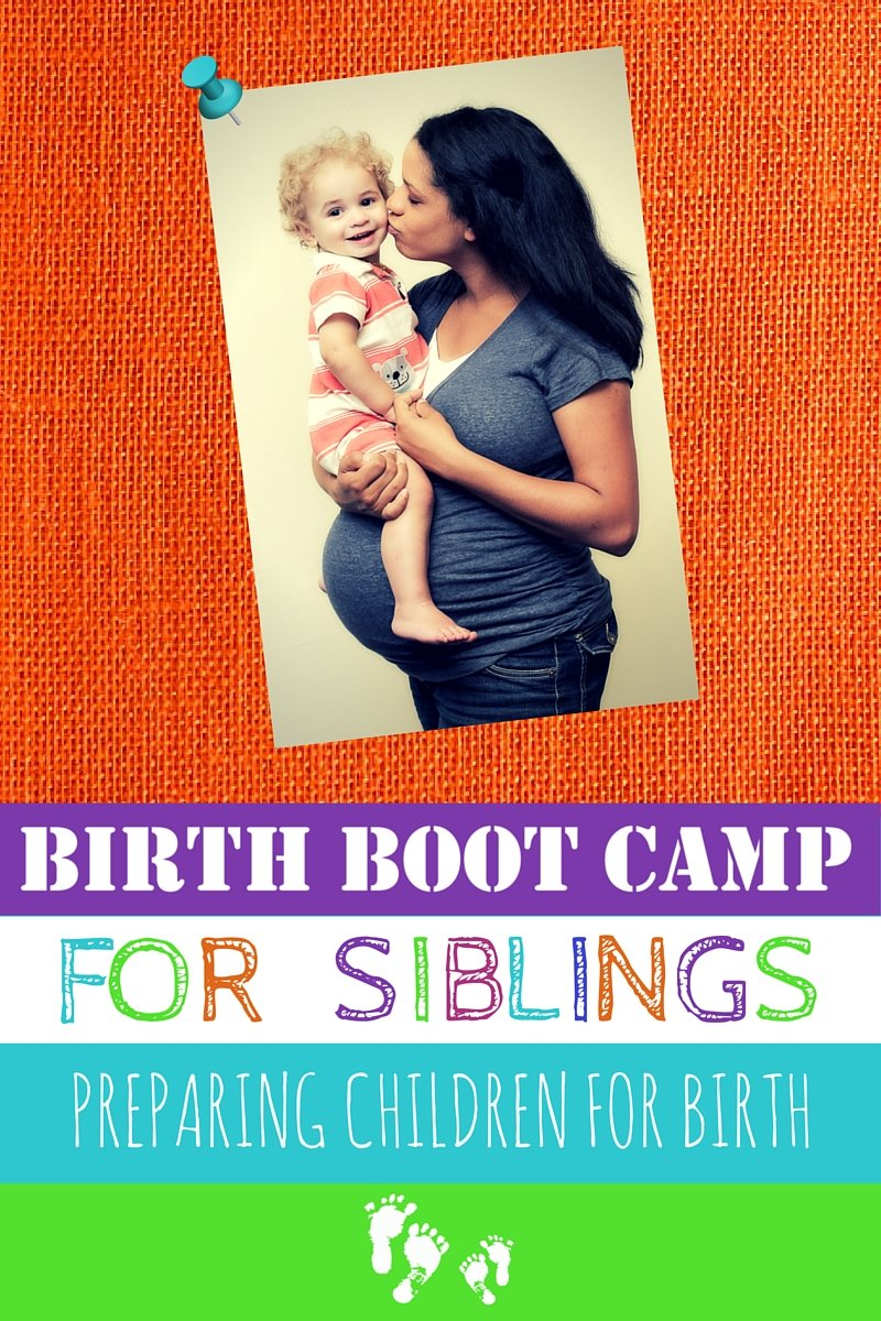 Siblings at Birth Class and Workbook!