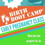 Birth Boot Camp Early Pregnancy Class