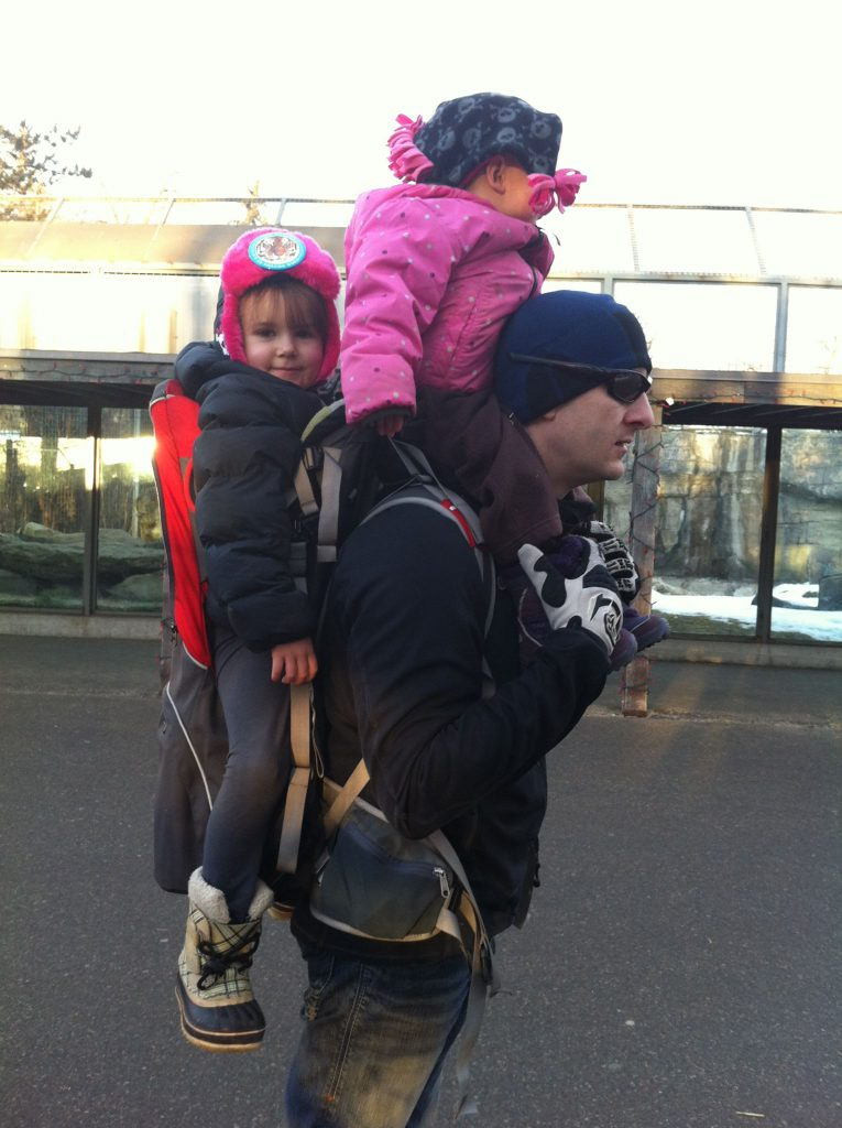 Babywearing makes growing your family easier.