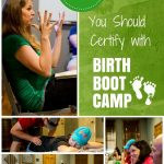 top 10 reasons to certify with Birth Boot Camp