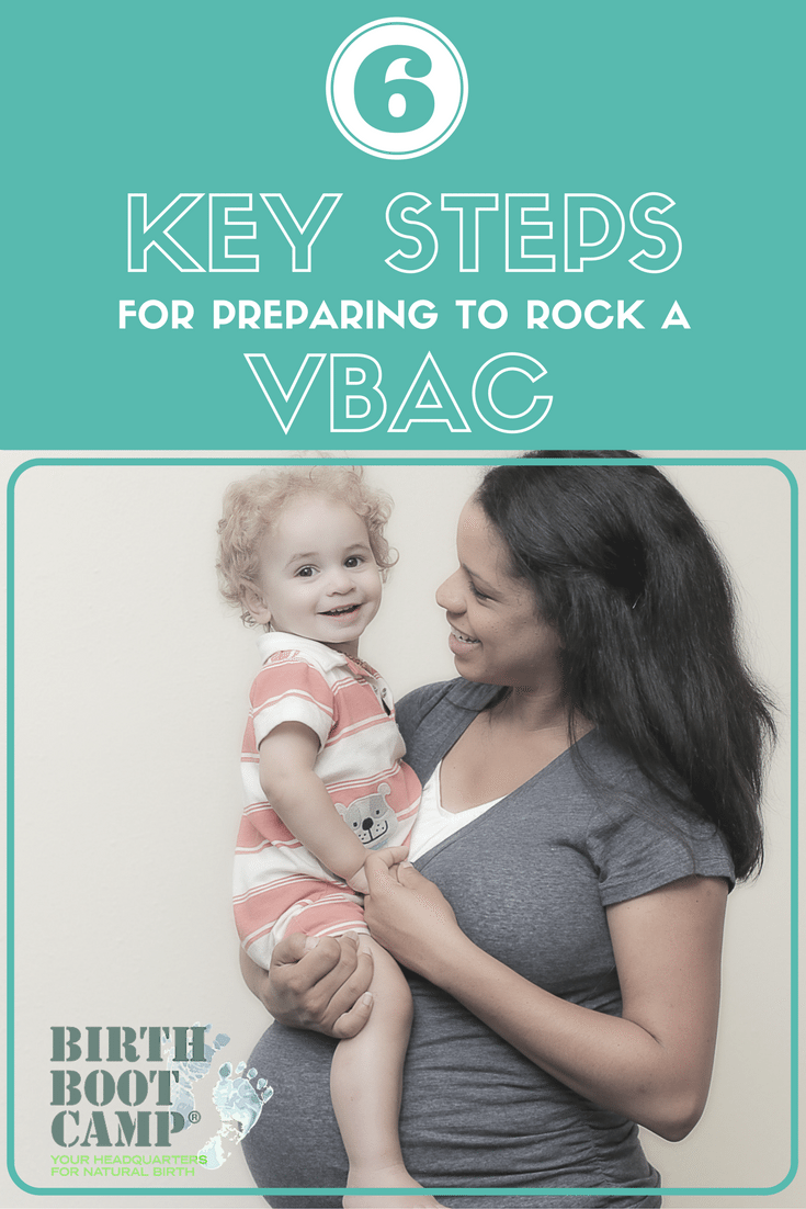 Six Steps for Planning Your VBAC