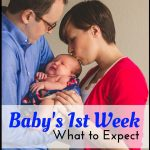 What to expect your first week with baby
