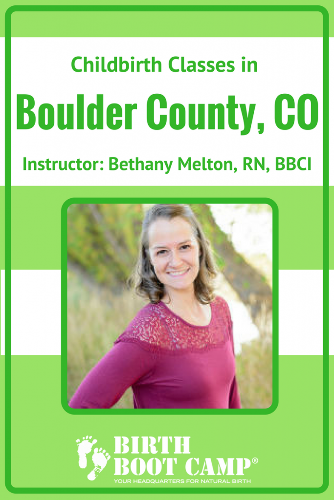 birth classes in Boulder County, CO