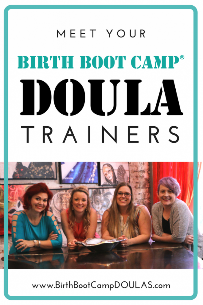 meet our birth boot camp doula trainers