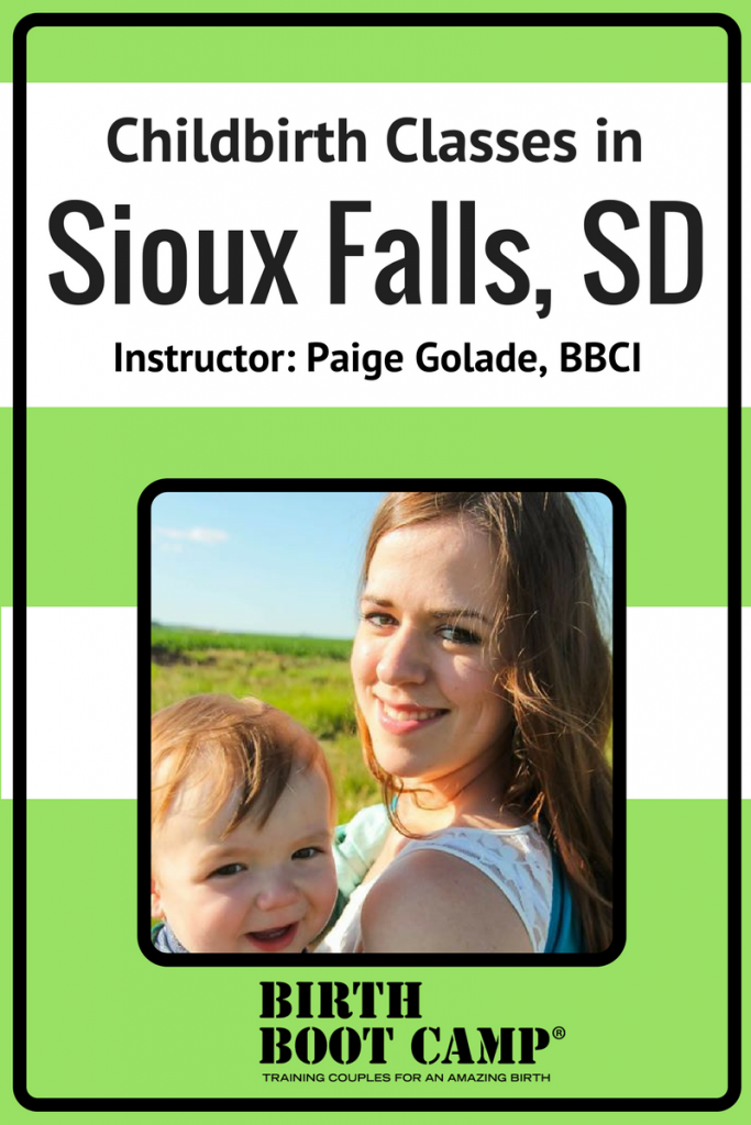 birth classes in sioux falls, SD