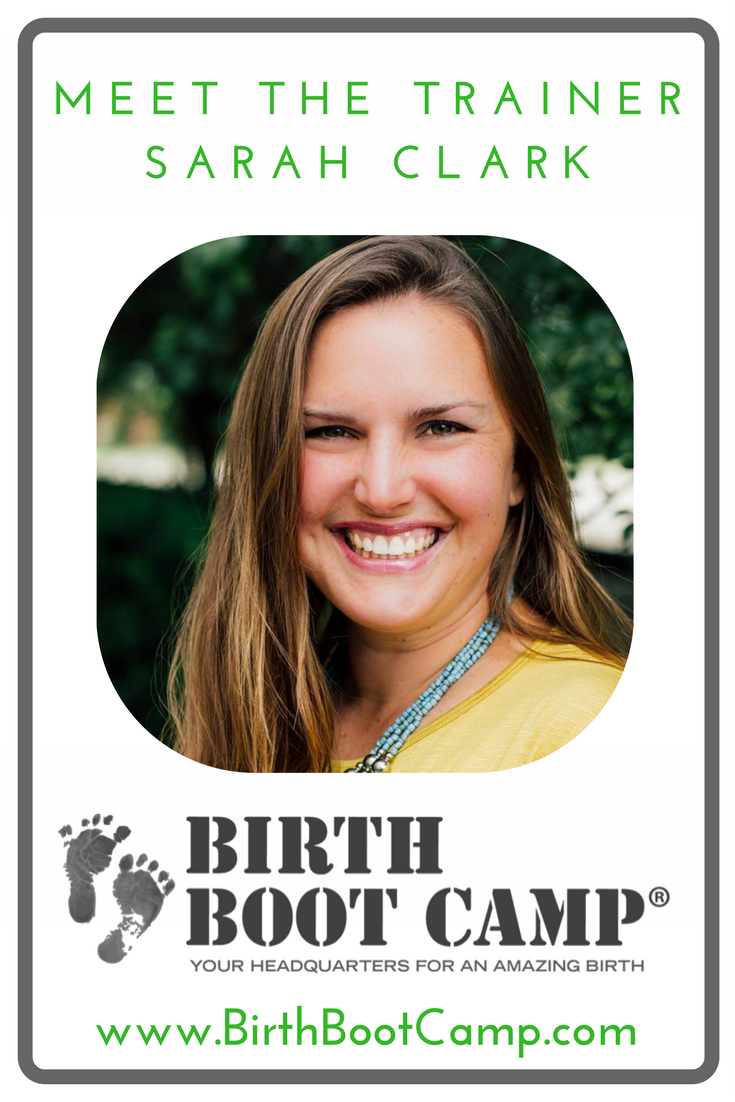 Introducing Sarah Clark, Birth Boot Camp Instructor Trainer