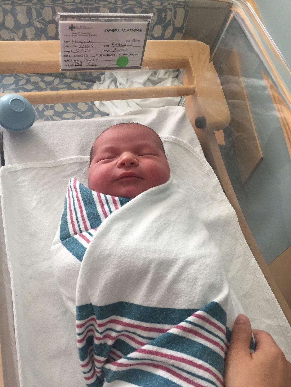My Quick 10 Pound Baby Birth Story