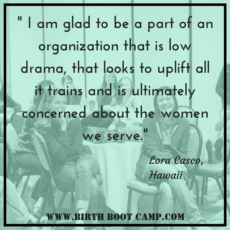 birth boot camp love