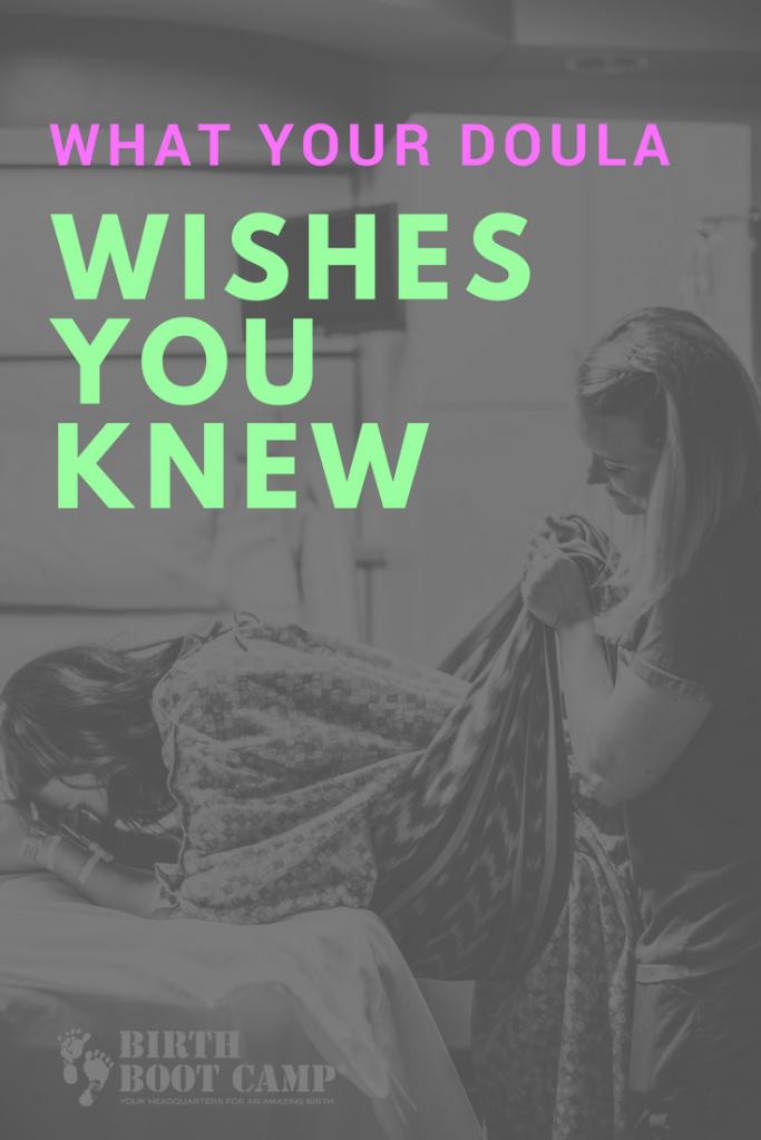 what your doula wishes you knew