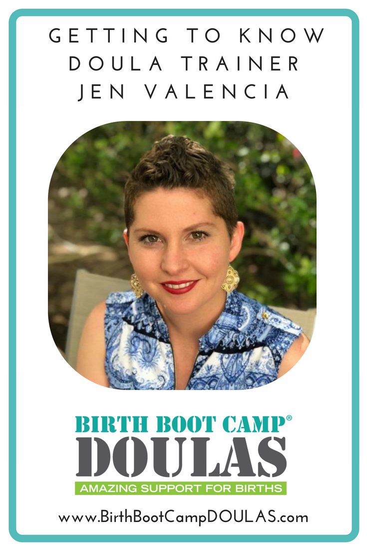 getting to know doula trainer jen