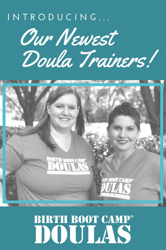 Welcome New Birth Boot Camp DOULA Trainers