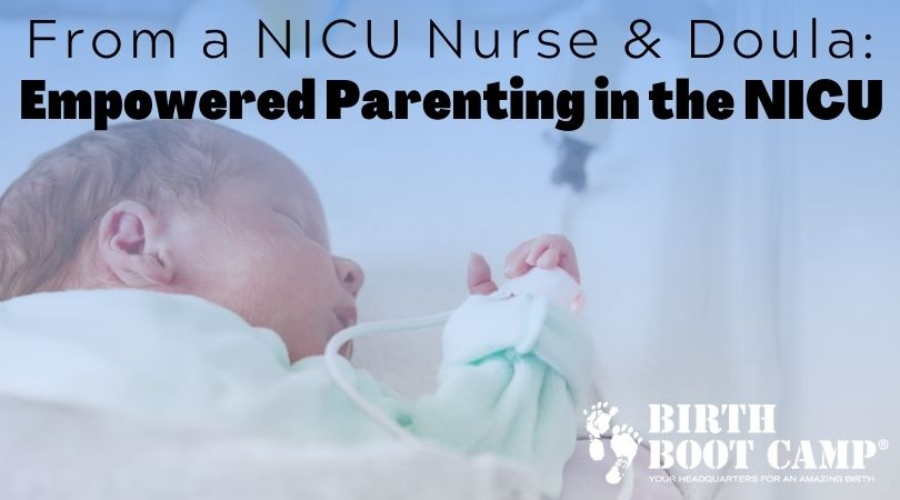 newborn baby in the nicu - tips for parents with a baby in the nicu