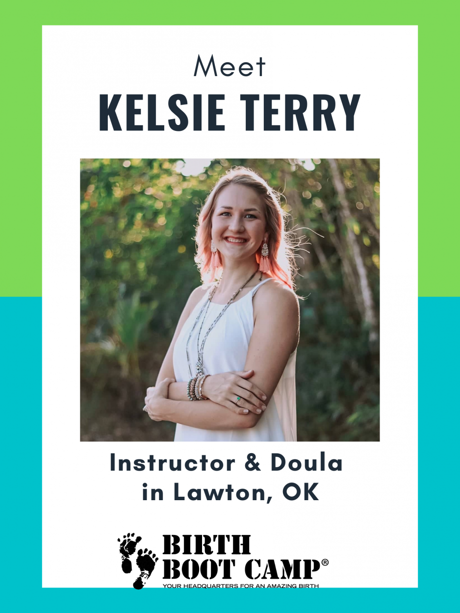 Kelsie Terry, Birth Boot Camp Instructor and Doula in Lawton, Oklahoma