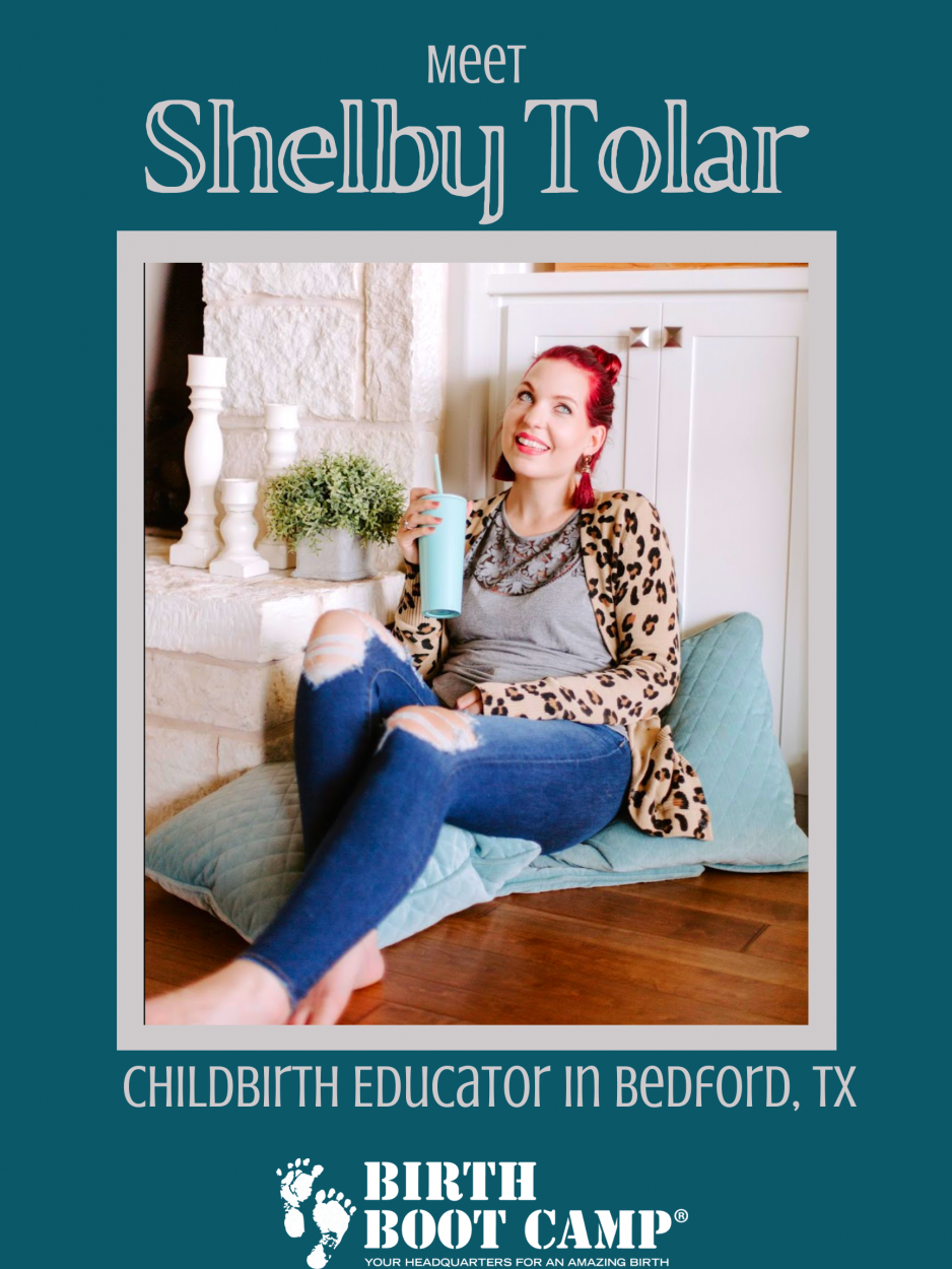 Shelby Tolar, childbirth educator in Bedford Texas
